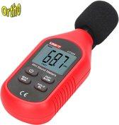 Ortho UNI Geluidsmeter, dB meter, Decibelmeter, Geluidssterktemeter, Geluidsniveaumeter, Digitaal.