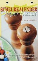 Scheurkalender Peper & zout