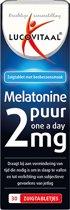Lucovitaal - Melatonine puur 2 miligram - 30 zuigtabletten - Medisch Hulpmiddel