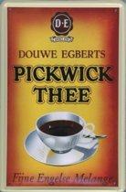 Douwe Egberts reclame Pickwick Thee reclamebord 10x15 cm