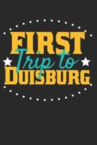 First Trip To Duisburg