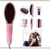 Stijlborstel | Straight brush | Elektrische Haarborstel | Stijltang Hairbrush | Stijltangborstel brush | Kleur: Zwart