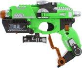 Toi-toys Pistool Toy Gun Met Foam Kogels 18 Cm Groen