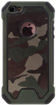GadgetBay Leger survivor TPU hardcase iPhone 5 5s SE hoesje case cover camo army