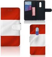 Bookstyle Case OnePlus 6 Oostenrijk