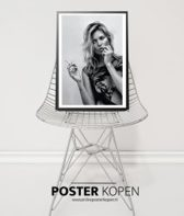 Kate Moss Lace Poster l A3 formaat