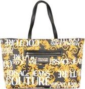 Versace Jeans Couture Dames Shopper - Zwart / Goud