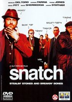 DVD cover van SNATCH
