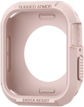 Spigen Apple Watch 4 (40mm) Rugged Armor Hoesje - Rose Goud