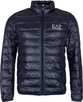 EA7 Down Jacket Heren Jas - Maat M  - Mannen - blauw