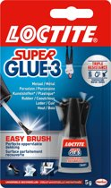 Loctite Secondelijm Super Glue Easy Brush