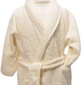 Clarysse Kimono kinderbadjas zonder capuchon Ivoor 122/128