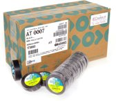Advance   -   AT7    -  Isolatietape   -  15mm x 10m zwart   -  doos 100 rollen