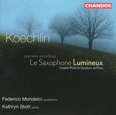 Koechlin: Complete Works for Saxophone and Pinao / Mondelci, Stott