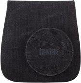 Fujifilm Instax Mini 8 soft case zwart lijnen + draagband