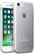 Hoesje geschikt voor Apple iPhone 7 en iPhone 8, gel case, doorzichtig
