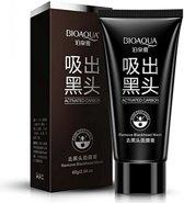BIOAQUA Blackhead Remover Mask,Nose Acne Blackhead Remover Mask,Peel Off Mask, Charcoal Mask,(2.11 oz)