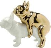 Kare Design - Decoratief Beeld Liefdeshonden - Love Dogs - porselein