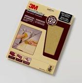 3M™ SandBlaster™ Schuurpapier vellen, 69019, Paars, 23 cm x 28 cm, P120, 3 vellen
