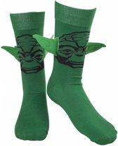 Star Wars Yoda Sokken met Oren Groen, Maat:  39/42