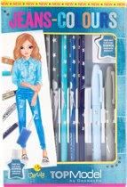 TOPModel Teken En Kleurset Jeans
