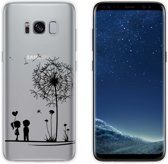 MP Case TPU case love print voor Samsung Galaxy S8 back cover