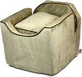 Snoozer Lookout - Autostoel - Autozitje voor honden - Small 48x38x43  cm - Buckskin