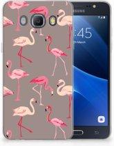 Samsung Galaxy J5 2016 Uniek TPU Hoesje Flamingo