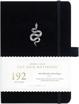 Archer & Olive Notitieboek A5 Dotted - Garden Slither (192 pagina's)