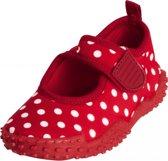Meisjes waterschoenen rood met stippen 30/31 (4-6 jr)