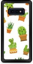 Galaxy S10e Hardcase hoesje Happy Cactus