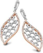 Velini jewels -EA6493R -Oorbellen -925 Zilver rosé -Cubic Zirkonia