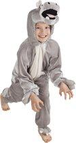 Kinderkostuum Nijlpaard Pluche - Maat 140