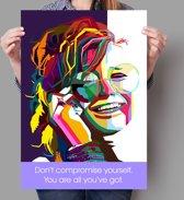 Poster WPAP Pop Art Janis Joplin