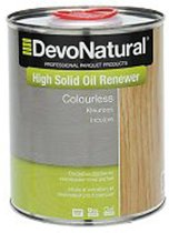 DevoNatural High Solid Oil Renewer kleurloos / Onderhoudsolie - 1 liter