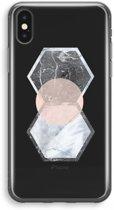 iPhone X Transparant Hoesje (Soft) - Creatieve toets