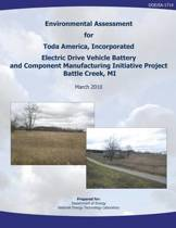 Environmental Assessment for Toda America, Incorporated Electric Drive Vehicle Battery and Component Manufacturing Initiative Project, Battle Creek, Mi (Doe/Ea-1714)