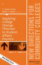 Applying College Change Theories to Student Affairs Practice