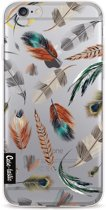 Casetastic Softcover Apple iPhone 6 / 6s  - Feathers Multi