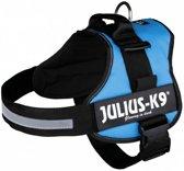 Julius K9 IDC Powertuig/Harnas - Maat 3/82-118cm - XXL - Lichtblauw