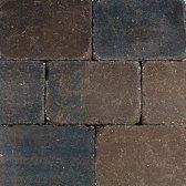 25 stuks! Pebble marazion bruin/zwart 20x30x6 cm Gardenlux
