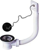 Wirquin afvoersysteem wastafel + overloopbuis � 50 mm