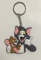 Tom and Jerry - Sleutelhanger - keychain - rubber - Tekenfilm