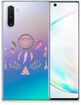 Samsung Galaxy Note 10 Telefoonhoesje met Naam Boho Dreamcatcher