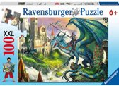 Ravensburger XXL puzzel Drakenrijder 100 stukjes