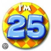 Paperdreams Button Klein - I'm 25