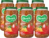 Olvarit 12 maanden - vegetarische pasta - 6x250g