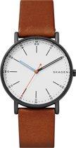Skagen Signature horloge  - Bruin