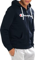 Champion - Felpa Hooded Full Zip - Heren - maat M