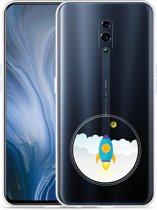 Oppo Reno Hoesje To the Moon